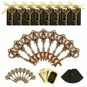 Key Bottle Opener 36/50 Pieces Wedding Wine Ring Keychain Party Favors With Tags