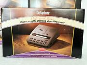 Dictaphone 3750 Microcassette Transcriber With Foot Pedal, Headset, Power Supply