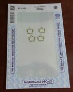 Microscale Decals Canadian National Ho Gauge Cabooses Nip