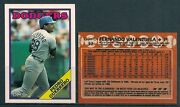 1988 O-pee-chee Los Angeles Dodgers Team Set 14 - Mint From Vend Case