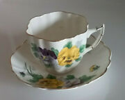 Victoria Fine Bone China Tea Cup And Saucer - Free Shipping