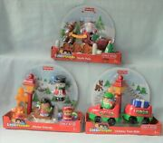 Fisher Price Little People Christmas Holiday Train Ride North Pole Winter Friend