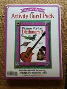 Teachers Guide Picture Perfect Dictionary 2 And Activity Card Pack Activity Voca