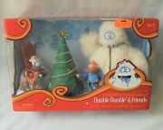 Deluxe Humble Bumble And Friends Rudolph The Red Nosed Reindeer Figurine Set
