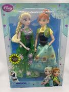 Disney Store Anna And Elsa Frozen Fever Dolls Exclusive New In Box ⭐️