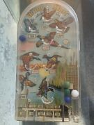Vintage Retro Hand Held Wing Shot Wild Birds Pinball Bagatelle, By Marx Toys