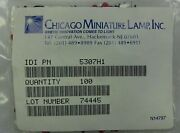 Chicago Miniature Lamp Cml 5307h1 5mm 650nm Right Angle Red Leds