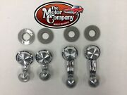 1973 1974 1975 1976 1977 Chevelle Vent And Window Crank Handle Kit 4pc Clear Knob