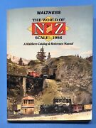 Walthers The World Of N And Z Scale 1986 Catalog And Reference Manual 336 Pages