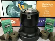 Hardinge 43 S22 Collet Pads, A2-6 Collet Adaptation Chuck, S22 Conemastercollet