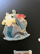 2017 D23 Disney Expo Ariel And Triton Designer Pin Limited 1000 Pin Little Mermaid