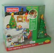 Fisher Price Little People Tree Lighting In Discovery Park Christmas Musical