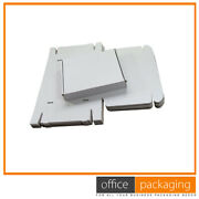 Good Quality White Small Die Cut Parcel Postal Boxes Light Weight 8x5x2