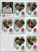 Big Bang Theory Season 3 And 4 Trading Cards Die Cut Insert Lot Of 8 Cards Inc F08