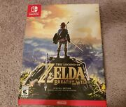 Legend Of Zelda Breath Of The Wild - Special Edition Brand New Sealed