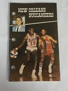 1968-69 New Orleans Buccaneers Aba American Basketball Media Press Guide Rare