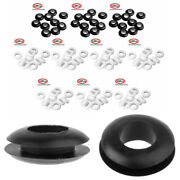 10 Silicone O Ring Sealing Washers Grommet For Mason Jar Wine Beer Making Lids