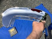 1955 Oldsmobile Grille Bar Hood Extension Plated Show