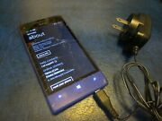 Htc 8xt Windows 8.0mp Camera Smartphone Cracked Lcd For Parts/repair