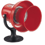New Federal Signal Siren 120vac/dc Electromechanical Red
