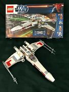 Retired Lego 9493 Star Wars X Wing Fighter 100 Complete With Mini-figs 2012
