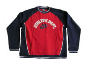 Vintage 90s Nike Swoosh Athletic Dept Red/blue/white Size L New With Tags