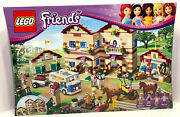 Lego 3185 Friends Summer Riding Camp New Factory Sealed 1145 Pieces Ages 7-12
