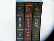 Lord Of The Rings Trilogy Platinum Series 12 Dvd Special Extended Edition Boxset