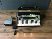 Accordix A-120 Electronic Accordion 41 Keys W/ Foot Pedal 1970s Japan Untested