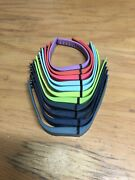 Fitbit Flex Multicolor Silicone Replacement Band 11 Total Size Large