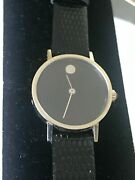 Movado Museum Watch For Women - 18k White Gold Mechanical Manual Movement Rare
