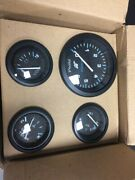 Instrument Group- Tachometer Oil Pressure Water Temperature And Battery Gauges