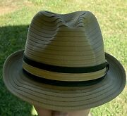 Vintagecrushable Reemay Mens Fedora Size 6.75 Pre-owned Nice Hat