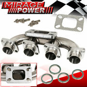For 01-10 Suzuki Gsx-r 1000 K1-k8 Stainless Steel Racing Turbo Charger Manifold