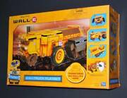 Disney Pixar Trans Forms Into Wall Eand039s Home 2 In 1 Truck Play Set Kit