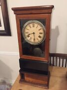 Antique International Time Recording Co. / Ibm Time Punch Clock 1927 Chevrolet
