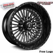 American Force Ck04 Spectrum Concave Black 26x16 Wheel 8 Lug One Wheel