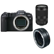 Canon Eos Rp + Rf 24-240mm F/4-6.3 Is + Ef Mount Adapter Ship From Eu Vite