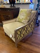 Caracole Social Butterfly Accent Chairs - Sold As Pair