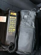 Vintage Gold Series Motorola Cellphone Scn2499a With Battery L.a. Cellular 1990s