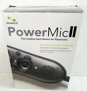 Nuance Powermic Ii Handheld Physician Dictation Device