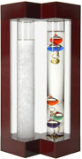 Lilyand039s Home Desktop Weather Station With Galileo Thermometer And Fitzroy Storm