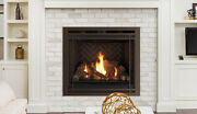 Superior 40 Gemini Dlx 40den Top/rear Direct Vent Gas Fireplace Ng