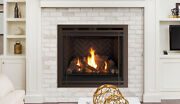Superior 35 Gemini Dlx 35den Top/rear Direct Vent Gas Fireplace Ng