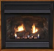 Empire White Mountain Vail Vent Free Fireplace Premium 36 Thermostat Lp W/blower
