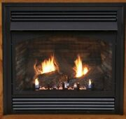Empire White Mountain Vail Vent Free Fireplace Premium 36 Thermostat Ng W/blower