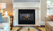 Superior Drt2045 Direct Vent Gas Fireplace Aries 45 Traditional Logs Millivolt