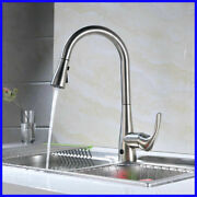 Flow Motion Activated Single-handle Pull-down Sprayer Kitchen Faucet-chrome