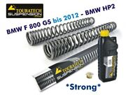 Touratech Progressive Fork Springs Bmw F800gs To 12 With Big Tank / Bmw Hp2