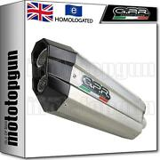 Gpr Exhaust Homologated + Link Pipe Sonic Inox Bmw R 1200 Rs Lc 2015 15 2016 16